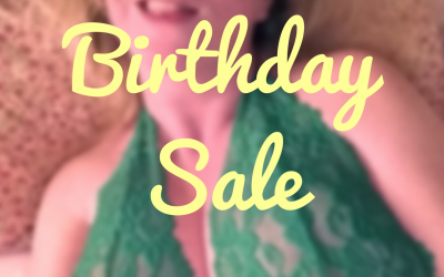Happy Birthday / Spring Site Sale!