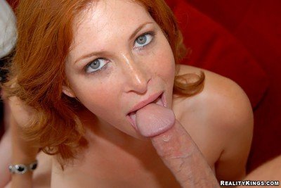 Hot Redhead MILF with pale skin
