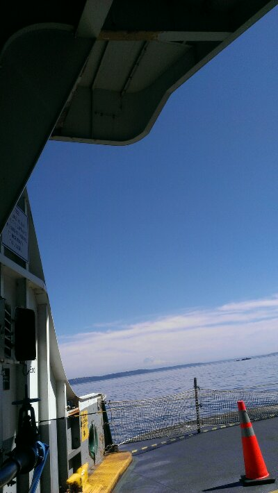 Seattle ferry summer