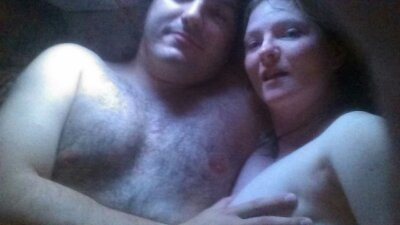 sweaty lovers topless in afterglow